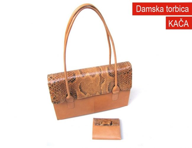 Damska torbica Kača