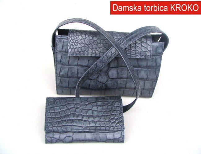 Damska torbica Kroko